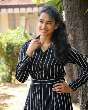 Actress Misha Ghoshal at CBL Press Meet Photos