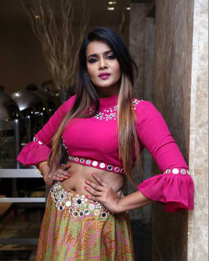 Actress Meera Mitun Stills at EWC Fashionista 2018