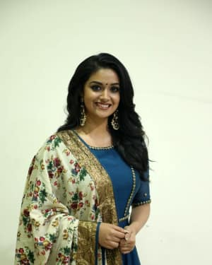 Photos: Keerthy Suresh Interview For Thaanaa Serndha Koottam