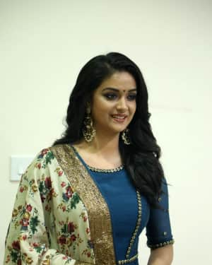 Photos: Keerthy Suresh Interview For Thaanaa Serndha Koottam | Picture 1558472