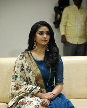 Photos: Keerthy Suresh Interview For Thaanaa Serndha Koottam | Picture 1558460