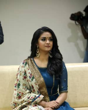 Photos: Keerthy Suresh Interview For Thaanaa Serndha Koottam | Picture 1558461