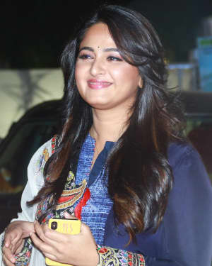 Photos: Anushka Shetty at Bhagmati Audio Launch