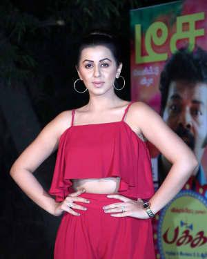 Actress Nikki Galrani at Pakka Teaser Launch Photos
