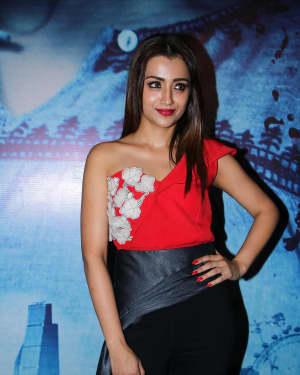 Actress Trisha Krishnan Stills at Mohini Movie Press Meet