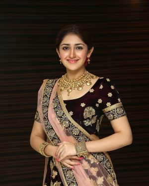 Sayyeshaa Saigal - Kadaikutty Singam Movie Audio Launch Photos