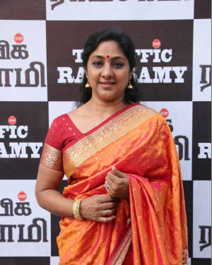 Rohini - Traffic Ramaswamy Movie Press Meet Photos