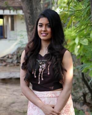 Amritha Aiyer - Kaali Movie Press Meet Photos