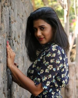 Shilpa Manjunath - Kaali Movie Press Meet Photos