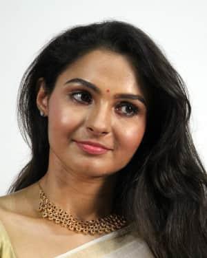 Andrea Jeremiah - Vada Chennai Movie Press Meet Photos