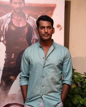 Vishal Krishna - Sandakozhi 2 Film Release Press Meet Photos
