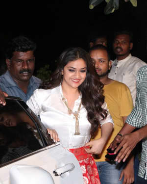 Keerthi Suresh - Sandakozhi 2 Film Release Press Meet Photos