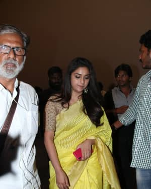 Keerthy Suresh - Sandakozhi 2 Celebrity Show with PVR Icon Opening Photos
