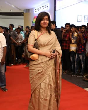 Gayathri Raghuram - Sandakozhi 2 Celebrity Show with PVR Icon Opening Photos