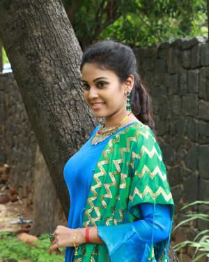 Chandini Tamilarasan Photos at Vanjagar Ulagam  Press Meet