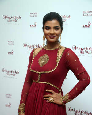 Aishwarya Rajesh - Chekka Chivantha Vaanam Audio Launch Photos