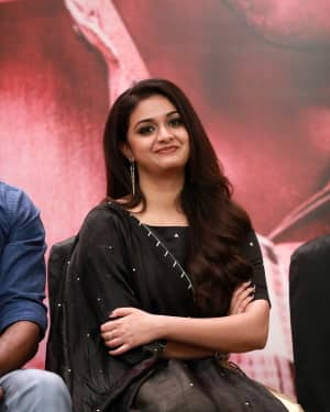 Keerthy Suresh - Sandakozhi 2 Movie Press Meet Photos