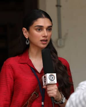 Aditi Rao Hydari - Chekka Chivantha Vaanam Movie Stills