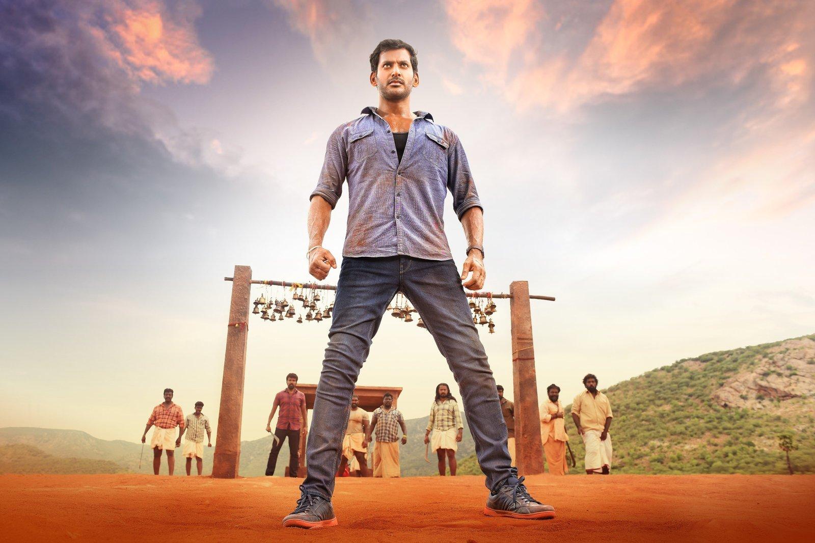 Abhimanyudu Movie Telugu Download Hd: Sandakozhi 2 Movie Stills