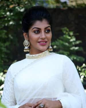 Yashika Anand Photos at NOTA Tamil Version Press Meet