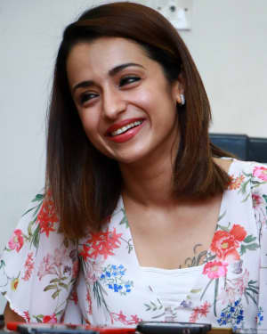 Trisha Krishnan - 96 Tamil Movie Press Meet and Interview Photos | Picture 1601048