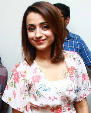 Trisha Krishnan - 96 Tamil Movie Press Meet and Interview Photos