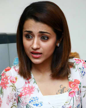 Trisha Krishnan - 96 Tamil Movie Press Meet and Interview Photos | Picture 1601051