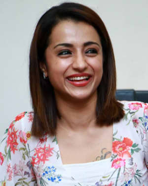 Trisha Krishnan - 96 Tamil Movie Press Meet and Interview Photos | Picture 1601045