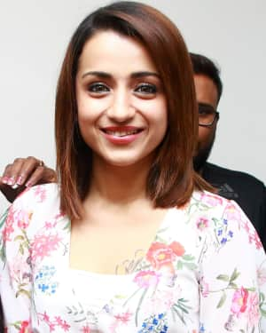 Trisha Krishnan - 96 Tamil Movie Press Meet and Interview Photos | Picture 1601054