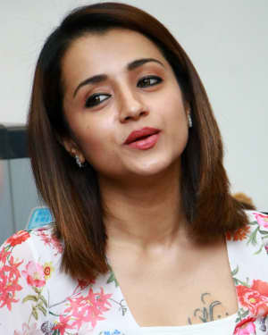 Trisha Krishnan - 96 Tamil Movie Press Meet and Interview Photos | Picture 1601052