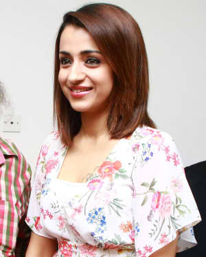Trisha Krishnan - 96 Tamil Movie Press Meet and Interview Photos | Picture 1601053