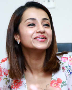 Trisha Krishnan - 96 Tamil Movie Press Meet and Interview Photos | Picture 1601044