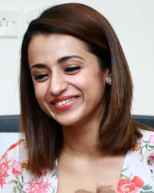 Trisha Krishnan - 96 Tamil Movie Press Meet and Interview Photos | Picture 1601041