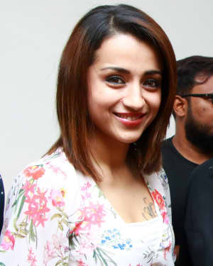 Trisha Krishnan - 96 Tamil Movie Press Meet and Interview Photos | Picture 1601055