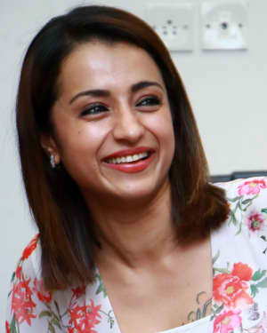 Trisha Krishnan - 96 Tamil Movie Press Meet and Interview Photos | Picture 1601046