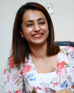 Trisha Krishnan - 96 Tamil Movie Press Meet and Interview Photos | Picture 1601047