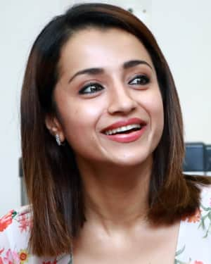 Trisha Krishnan - 96 Tamil Movie Press Meet and Interview Photos | Picture 1601042