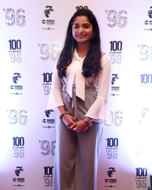 Gowri (Actress) - 96 Tamil Movie 100 Days Celebration Photos