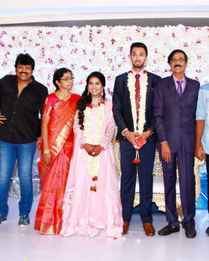 Mano Bala's Son Harish - Priya Wedding Reception Photos