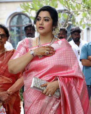 Meena Durairaj - Soundarya Rajinikanth and Vishagan Reception Photos