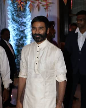 Dhanush - Soundarya Rajinikanth and Vishagan Reception Photos