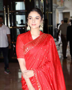 Aditi Rao Hydari - Soundarya Rajinikanth and Vishagan Reception Photos