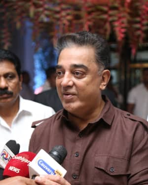 Kamal Haasan - Soundarya Rajinikanth and Vishagan Reception Photos