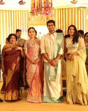 Soundarya Rajinikanth and Vishagan Reception Photos