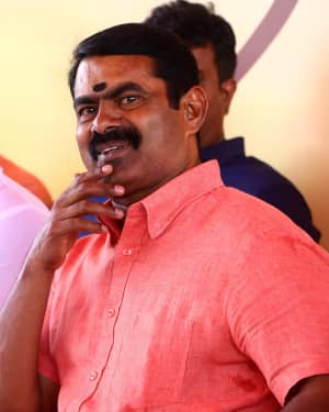 Seeman - Ameera Tamil Movie Pooja Photos