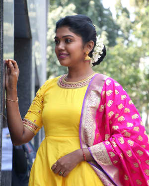 Riythvika Photos at Nethra Movie Press Meet   Picture 1628602