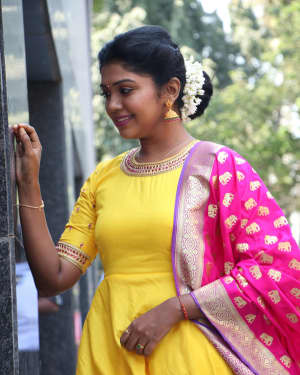 Riythvika Photos at Nethra Movie Press Meet   Picture 1628605