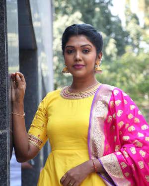 Riythvika Photos at Nethra Movie Press Meet   Picture 1628603