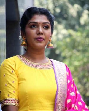 Riythvika Photos at Nethra Movie Press Meet