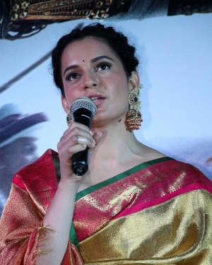 Kangana Ranaut Photos at Manikarnika Tamil Version Trailer Launch | 1619773